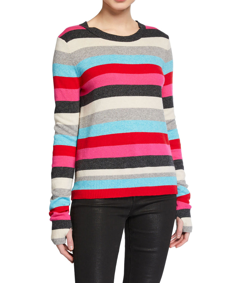 Pam & Gela Women Stripe Sweater