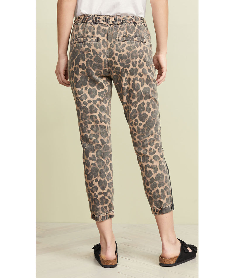 Pam & Gela Cropped Leopard Pant