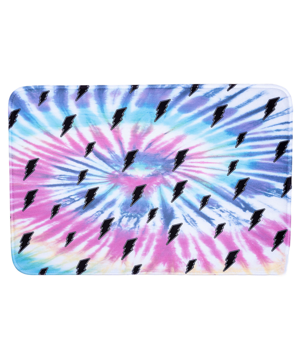 Penelope Wildberry Bolt Tie-Dye Mat