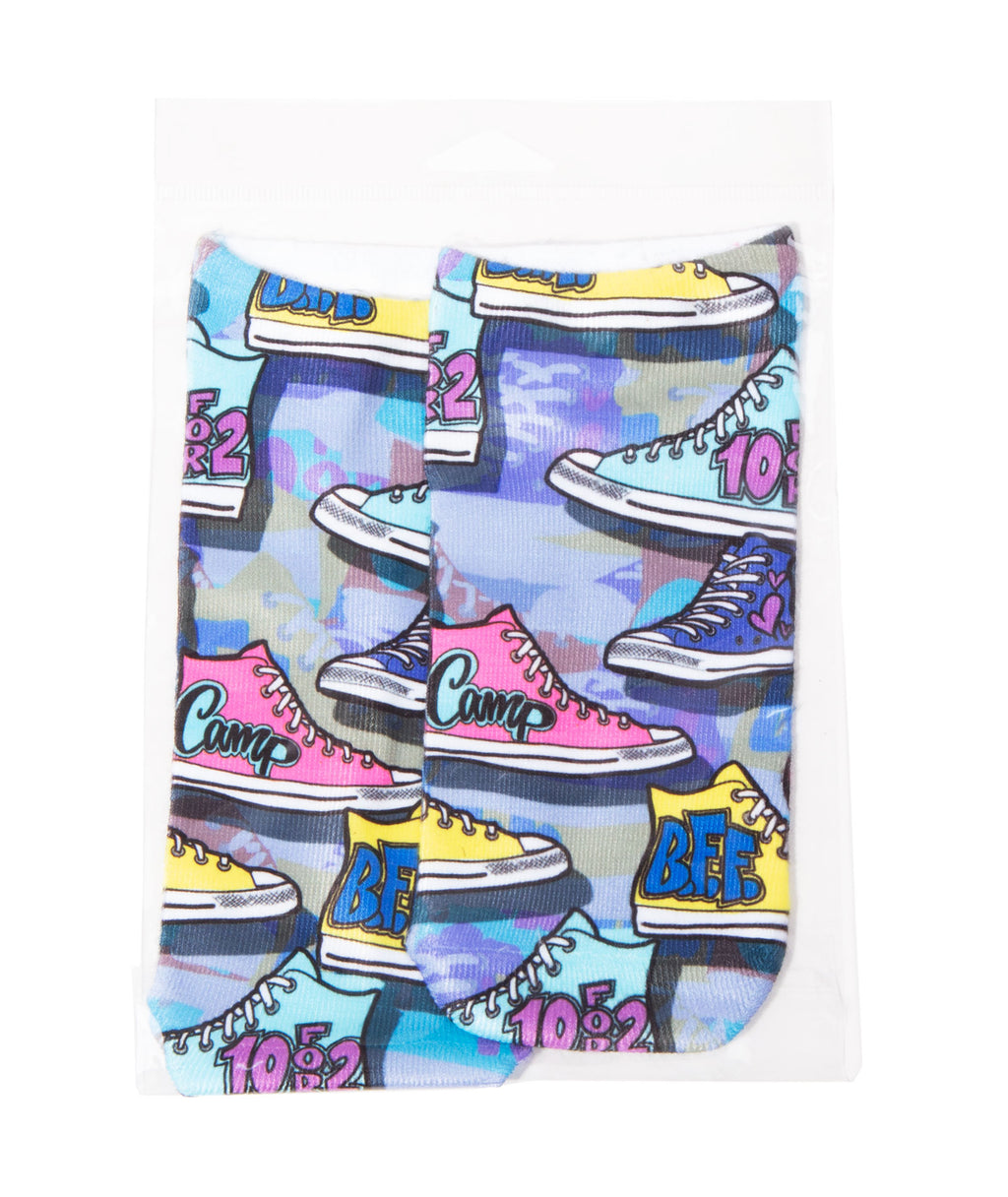 Camp Sneaker Socks