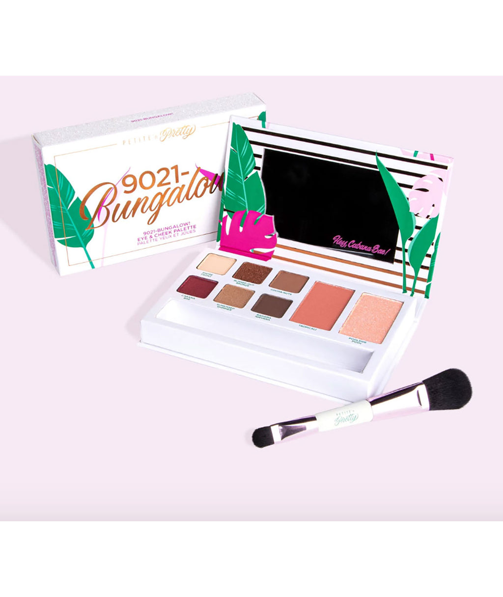Petite 'n Pretty 90210-Bungalow! Eye & Cheek palette