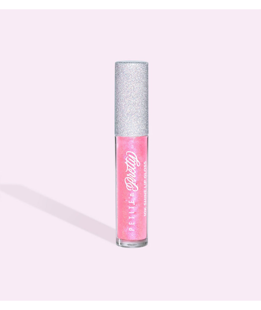 Petite 'n Pretty Pink Pact Deluxe 10K Shine Lip Gloss