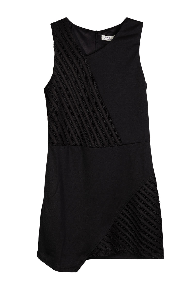 For All Seasons Girls Black Jumpsuit