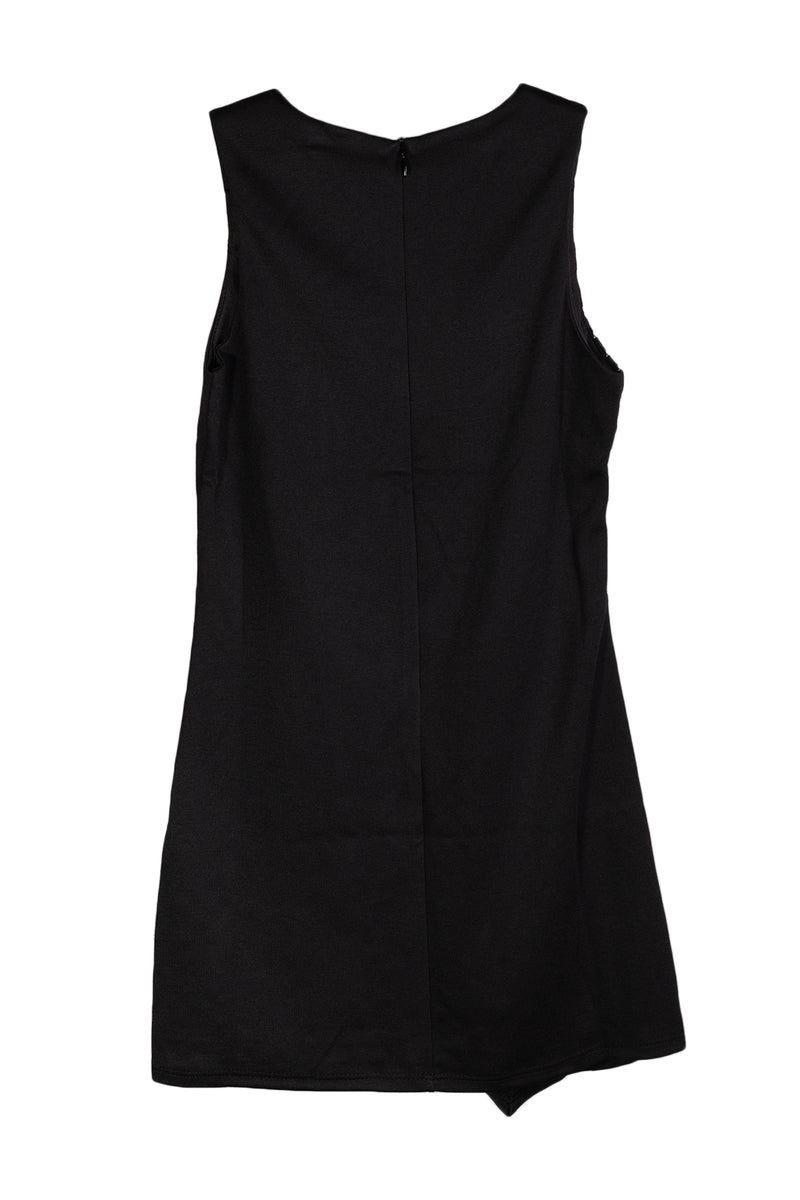 Pinc Premium Girls Black Bandage Dress