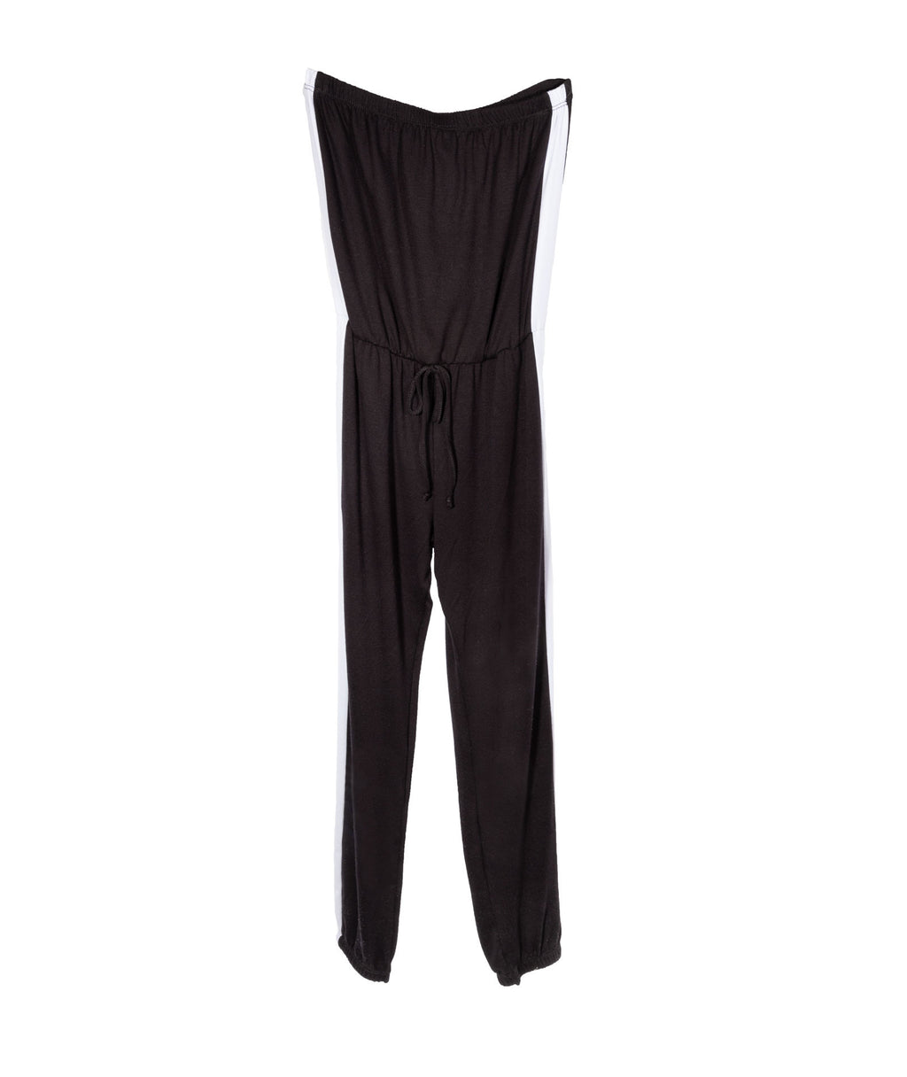 Pinc Premium Girls Black and White Tube Jumpsuit