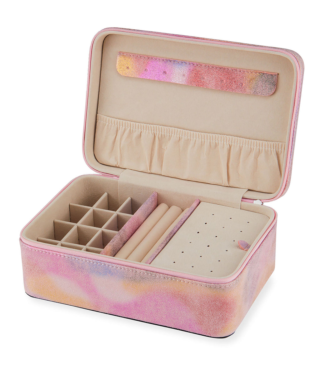 Bari Lynn Iridescent Jewelry Box