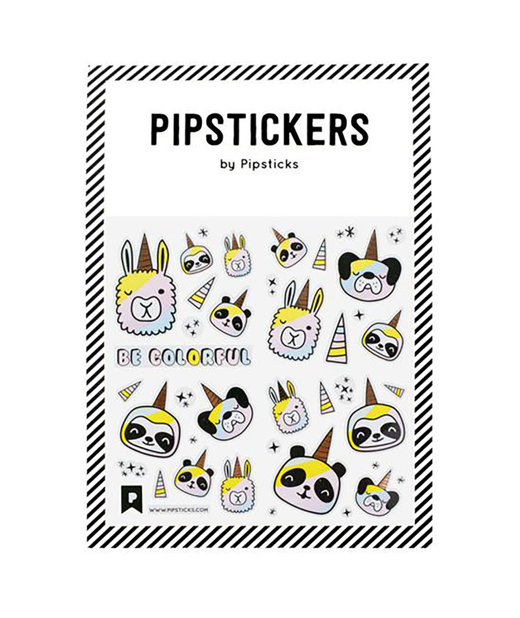 Pipsticks Be Colorful Sticker Sheet
