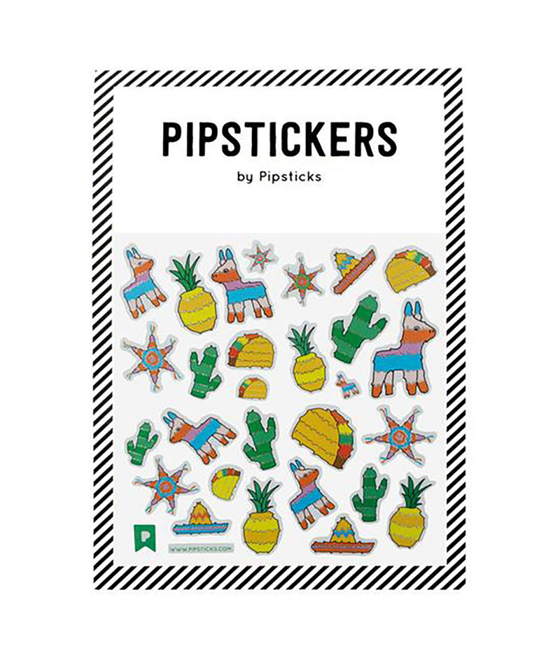 Pipsticks Fiesta Sticker Sheet