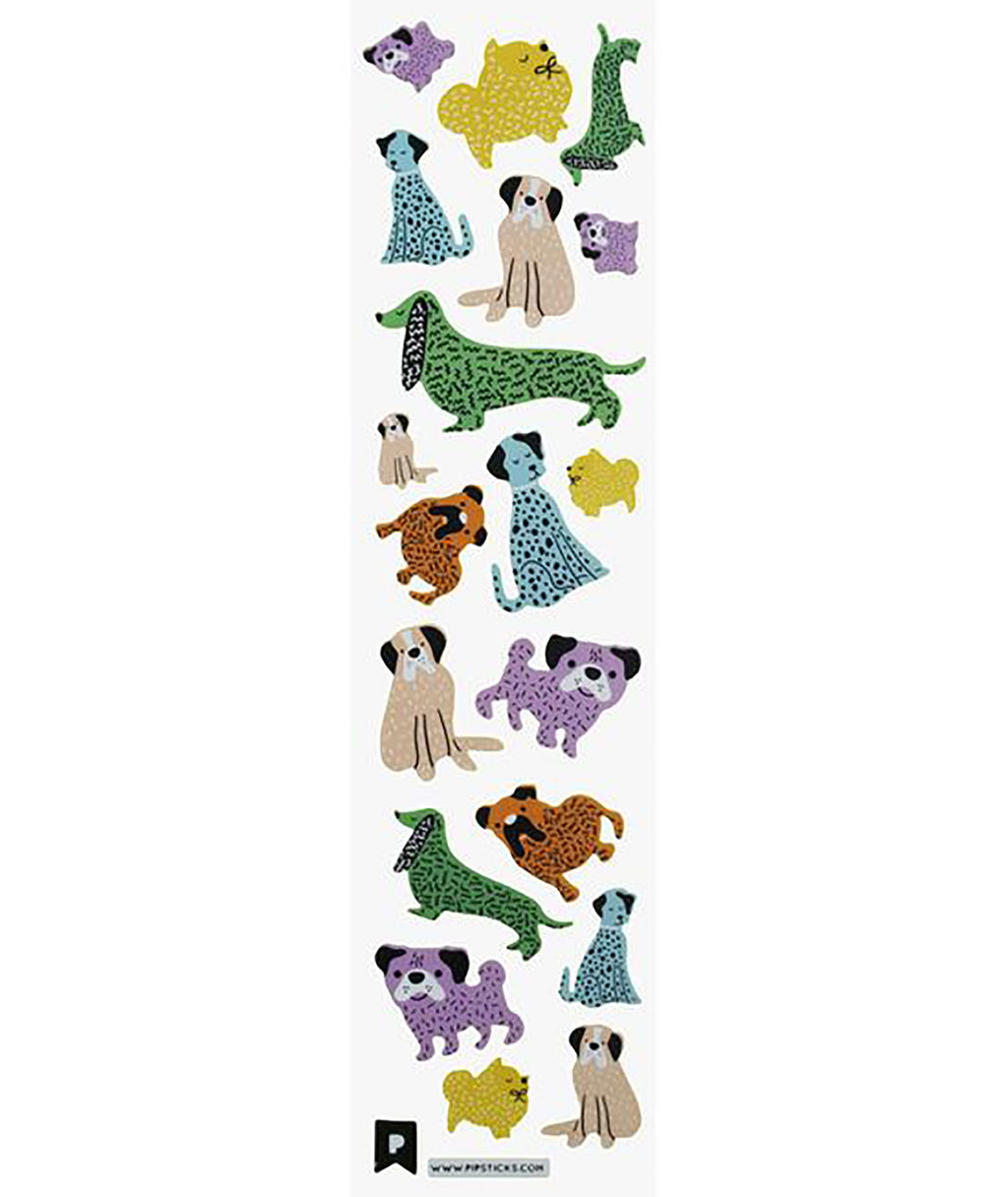 Pipsticks Pups Sticker Sheet