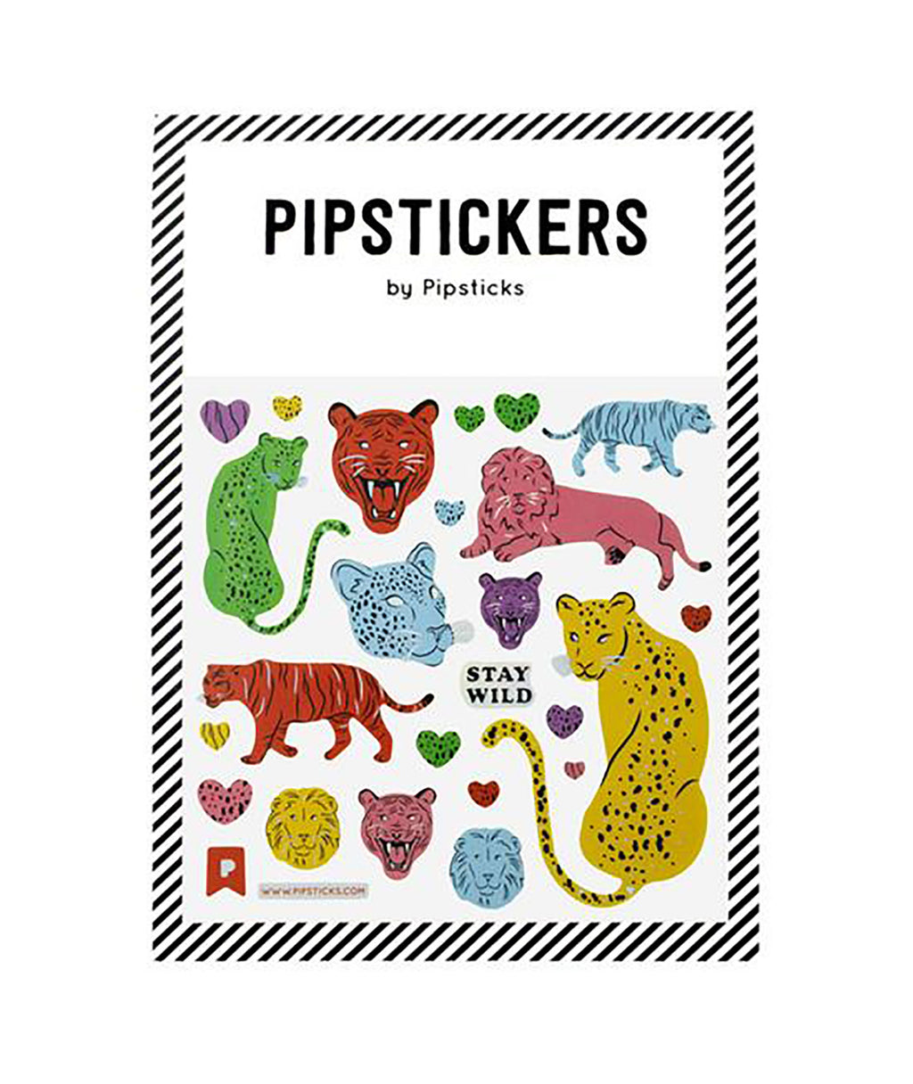 Pipsticks Wild Cats Sticker Sheet