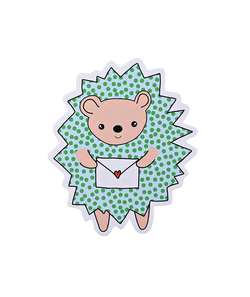 Pipsticks Hedgehog Vinyl Sticker