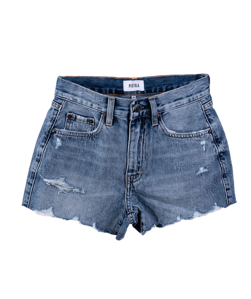 Pistola Women Nova First Time Jean Shorts