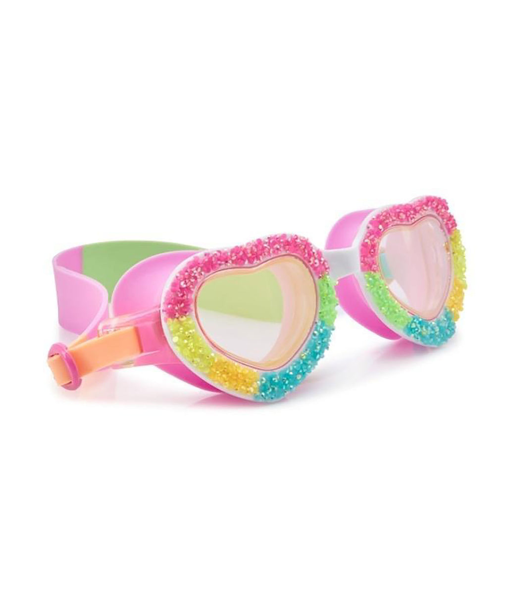Bling2o Pop Rocks Heart Swim Goggles