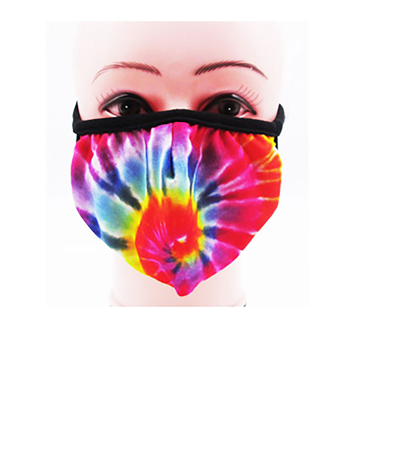 Confetti and Friends Adult Tie-Dye Masks - IN-STOCK