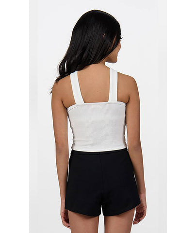 Sally Miller Girls Ivory Textured Tank - Frankie's on the Park