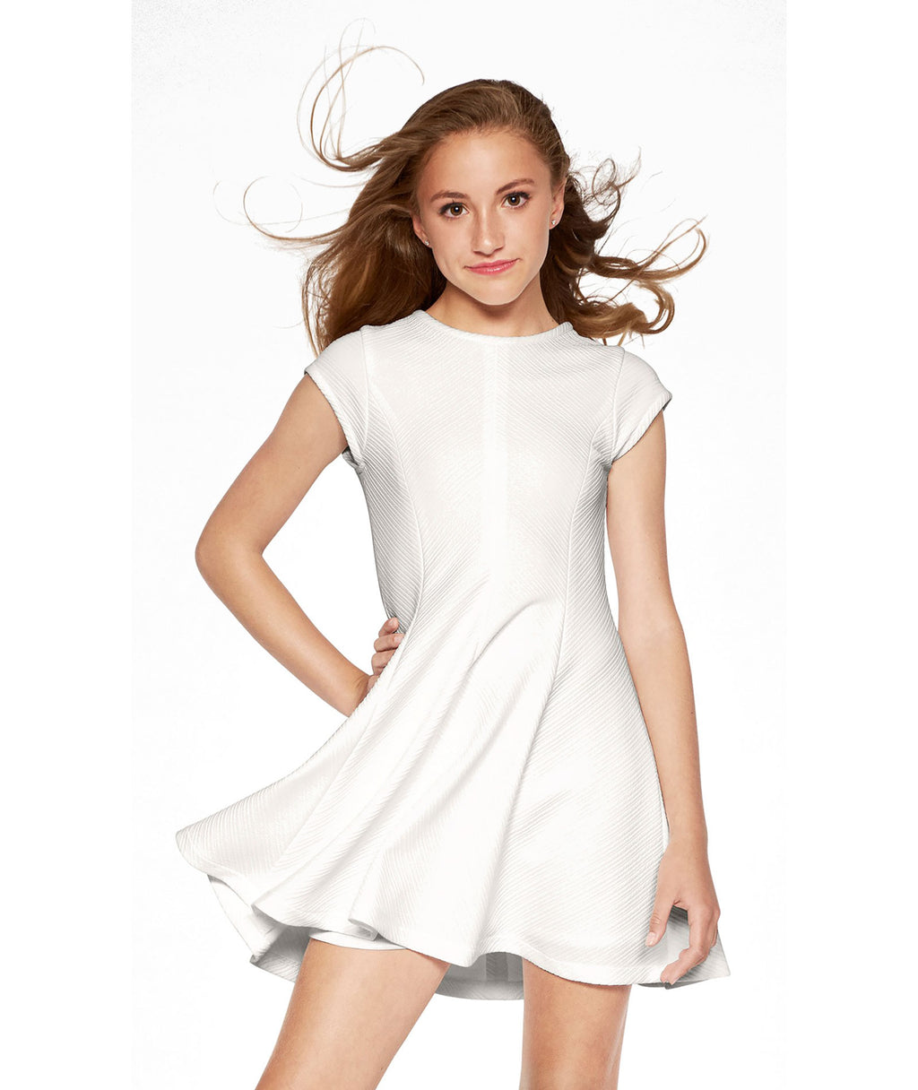 Sally Miller Girls White Allies Dress