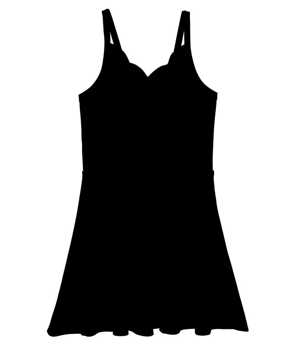 Sally Miller Girls Laynie Black Dress