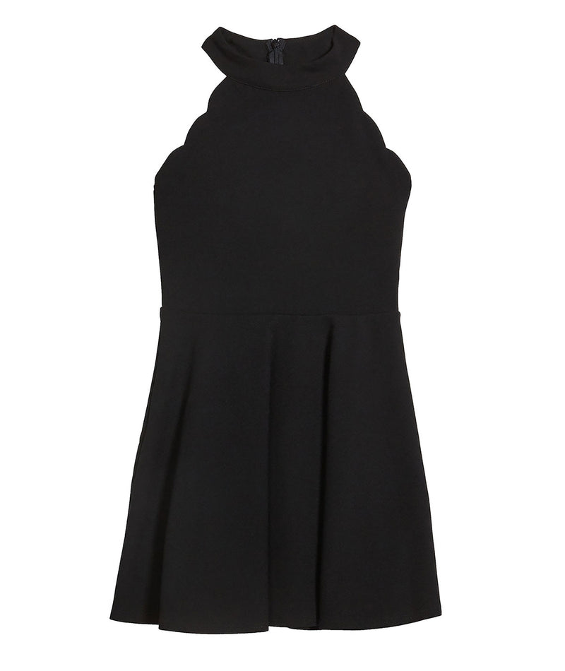 Sally Miller Girls Black Isabella Dress