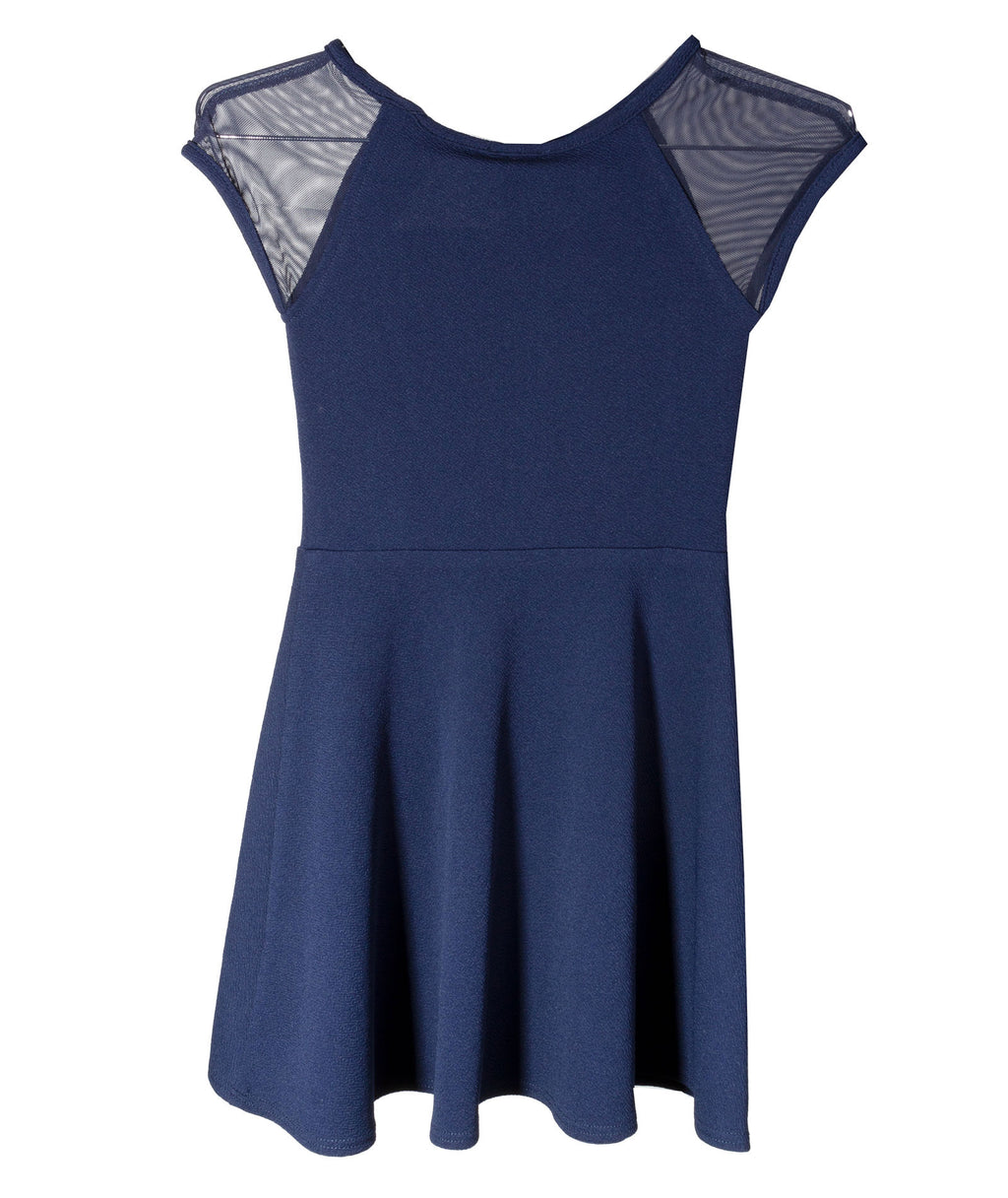 Sally Miller Girls Shea Navy Dress