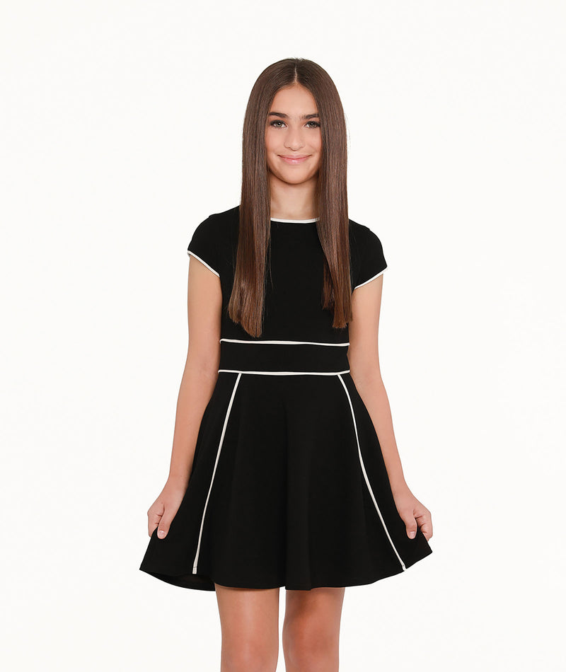 Sally Miller Girls Tiffany Dress Black
