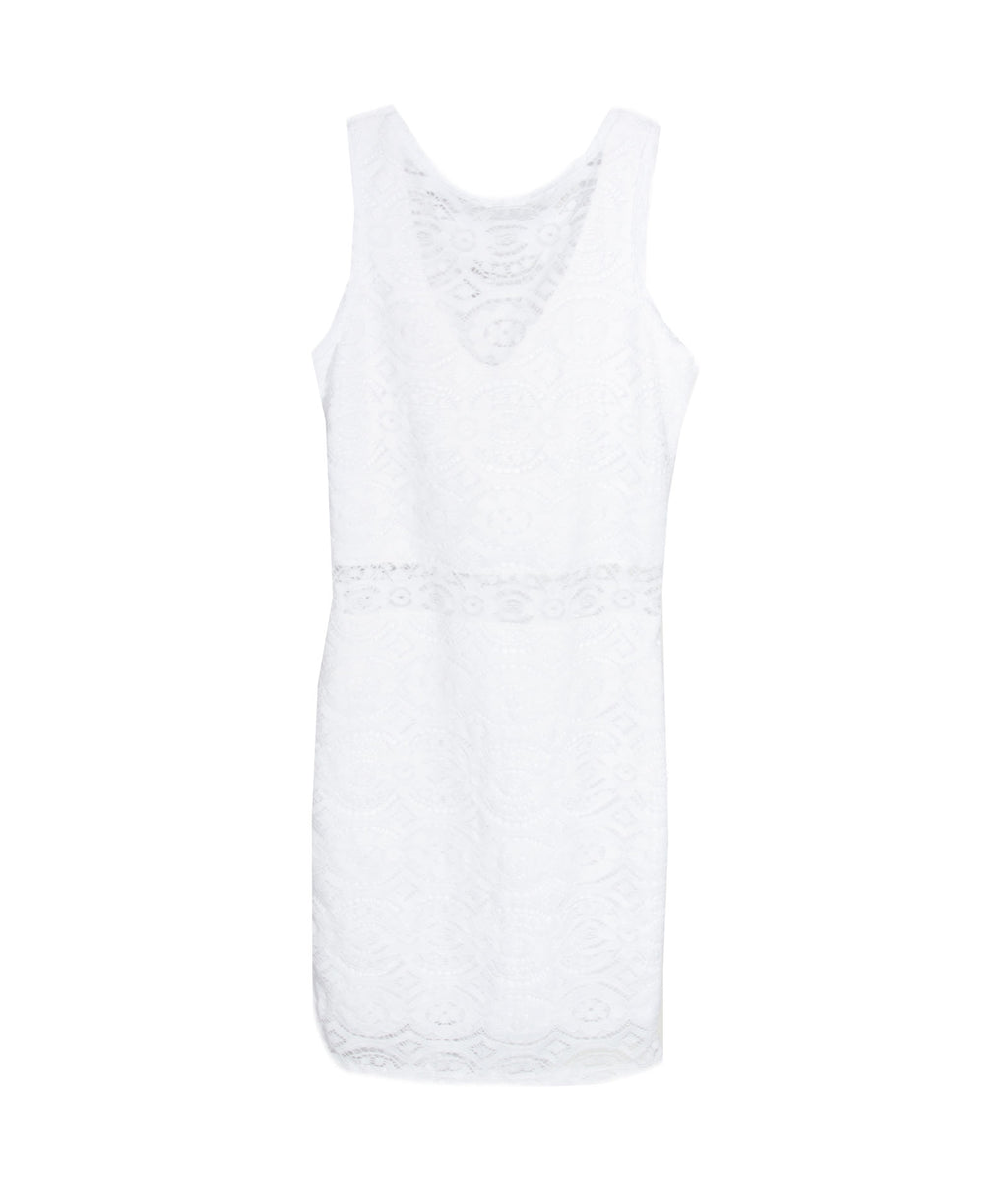 Sally Miller Juniors Adriana Dress White