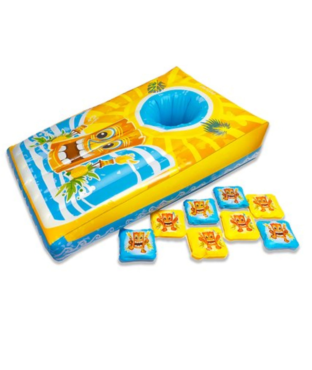 Island Toss Cornhole Inflatable Pool Game