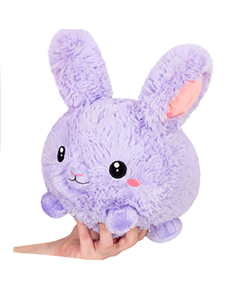 Mini Squishable Purple Fluffy Bunny