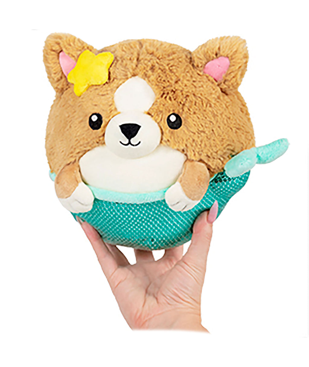 Squishable Mini Corgi Mermaid