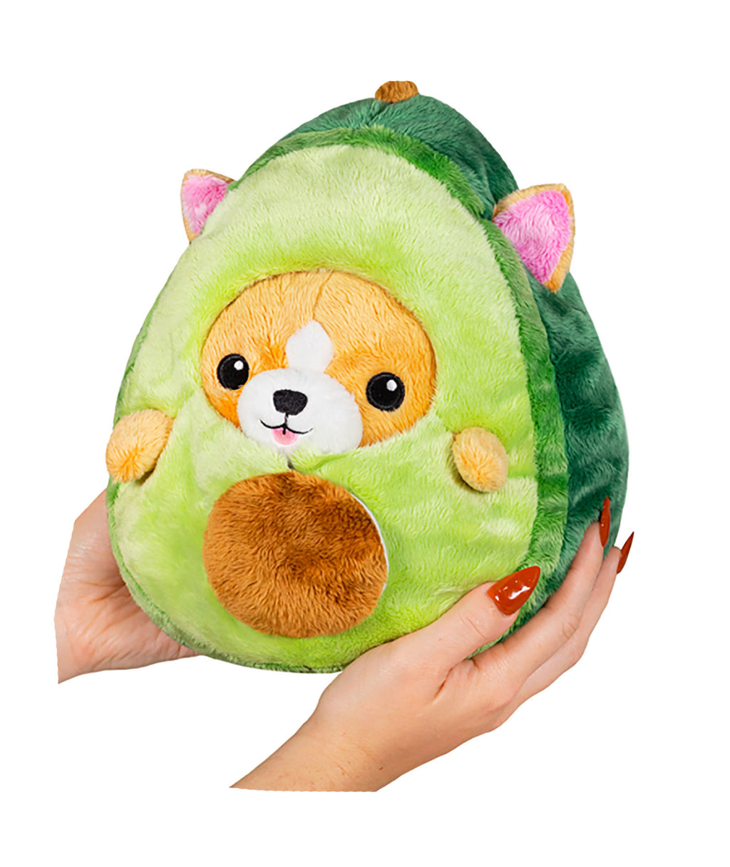 Mini Squishable Undercover Corgi Avocado