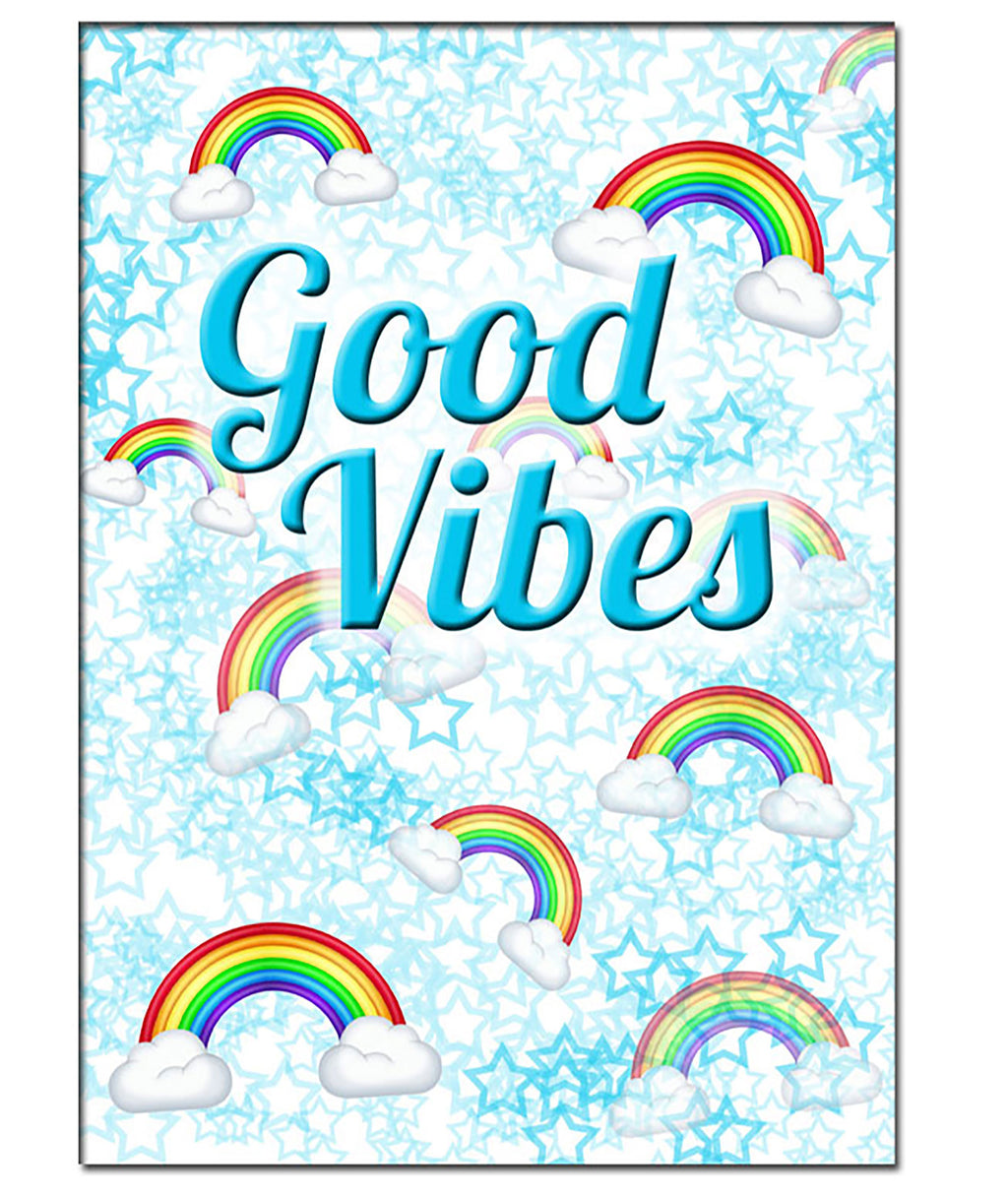 Pack of 10 Cards Good Vibes