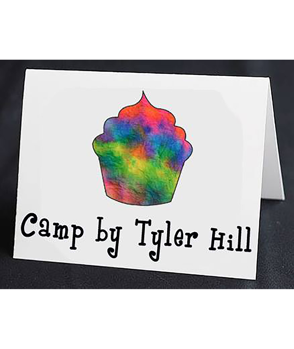 Staci-Nary Pack of 10 Cards Cupcake - Frankie's on the Park