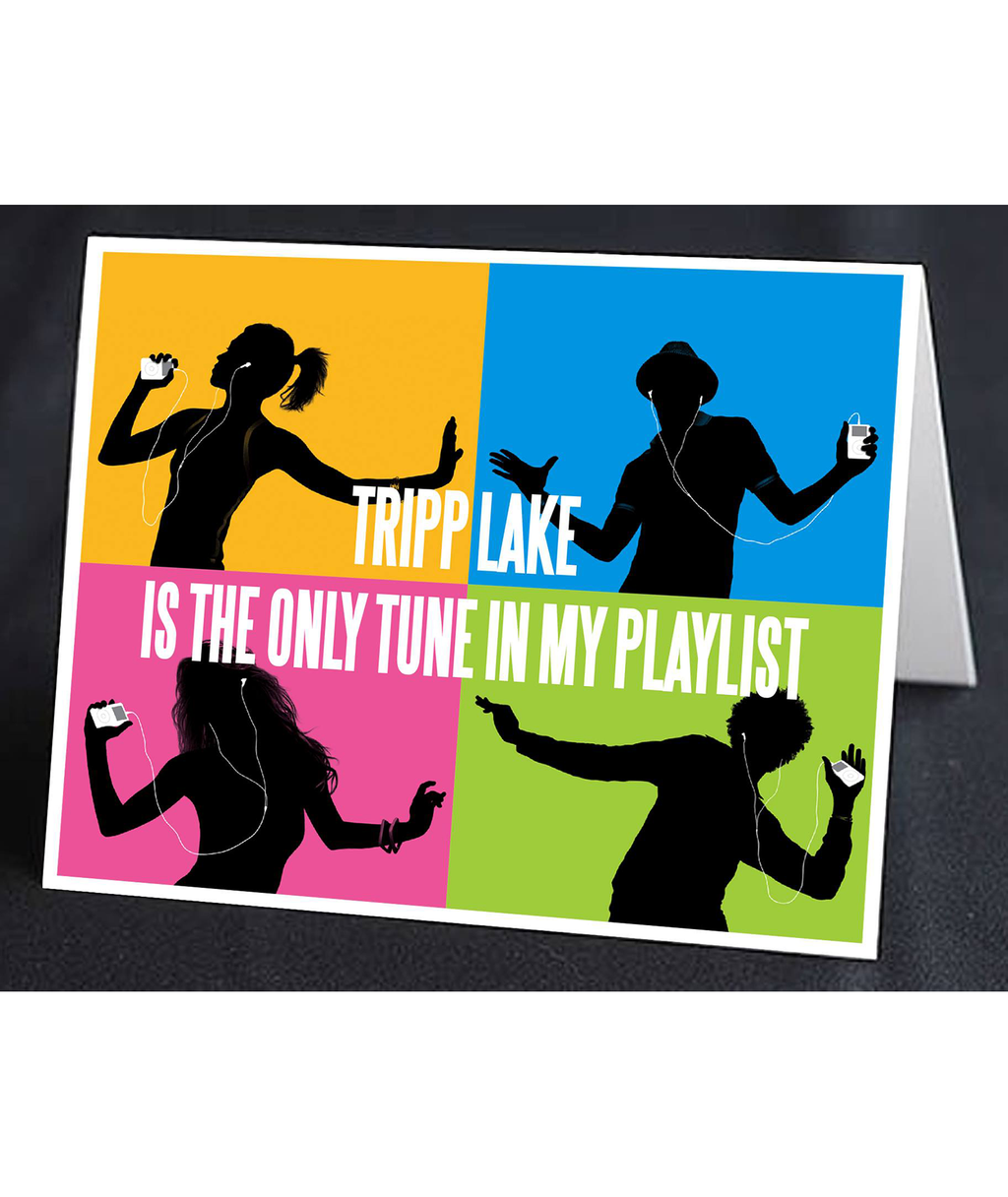 Staci-Nary Pack of 10 Cards Itunes | Frankie's on the Park
