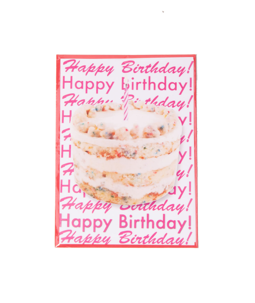 Staci-Nary Happy Birthday Cake Card