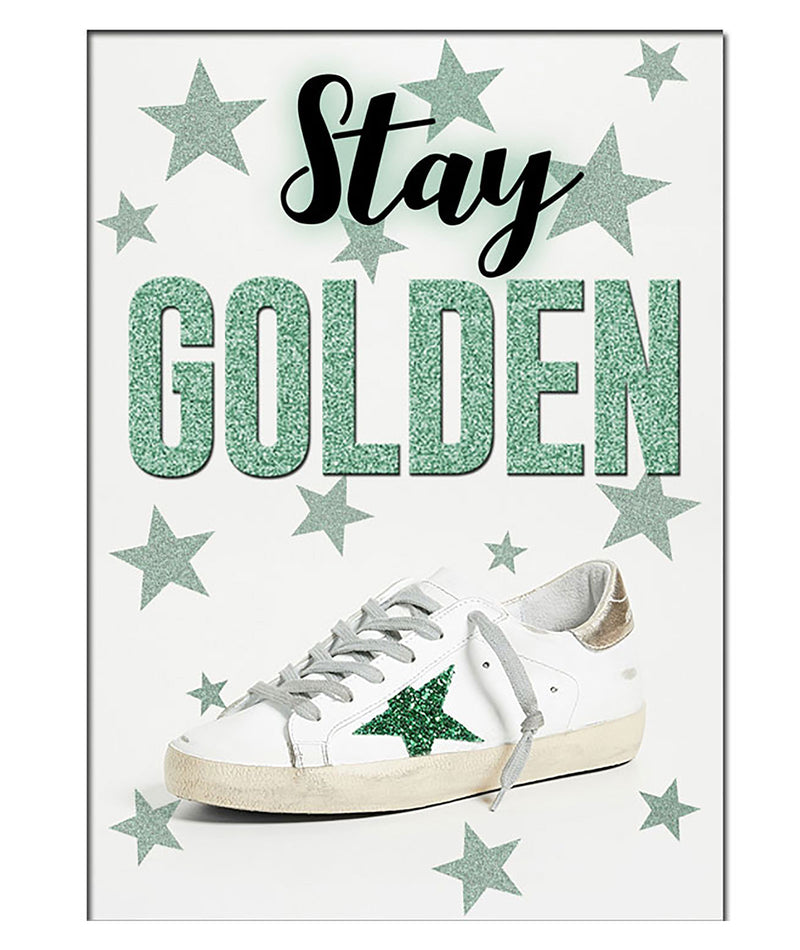 Staci-Nary Stay Golden Camp Card