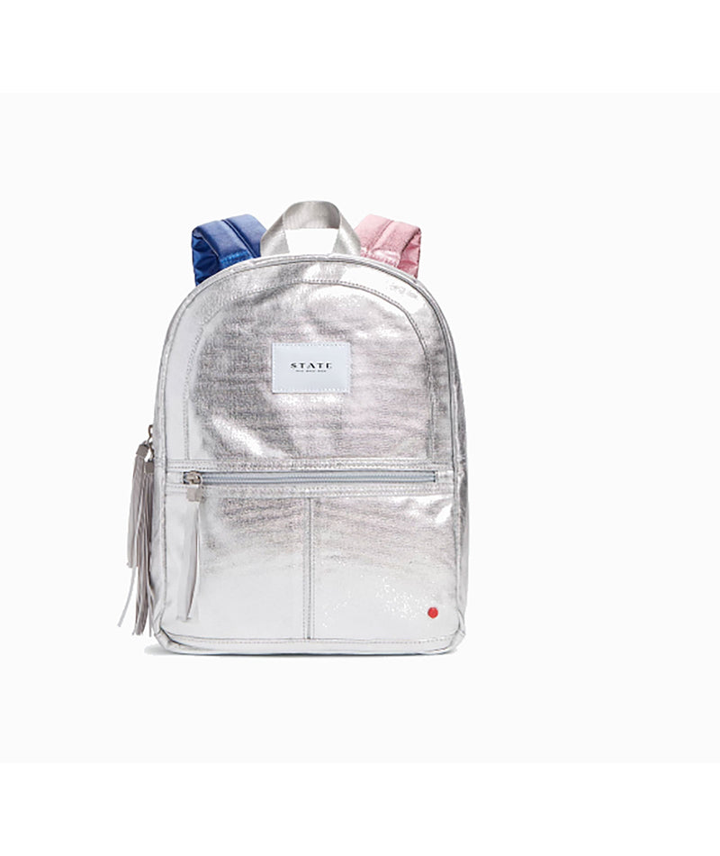 iScream Navy Metallic Lightning Bolt Backpack