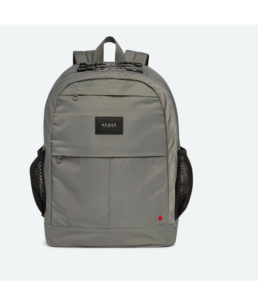 State Bags Leny Steel Grey/Pink Backpack