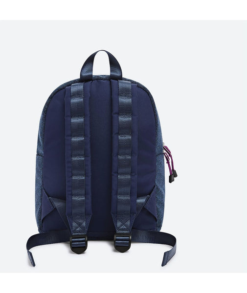 State Bags Mini Kane Blue Sparkle Backpack