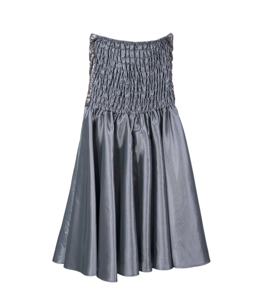 Stella M'Lia Girls Graphite Bimba Dress