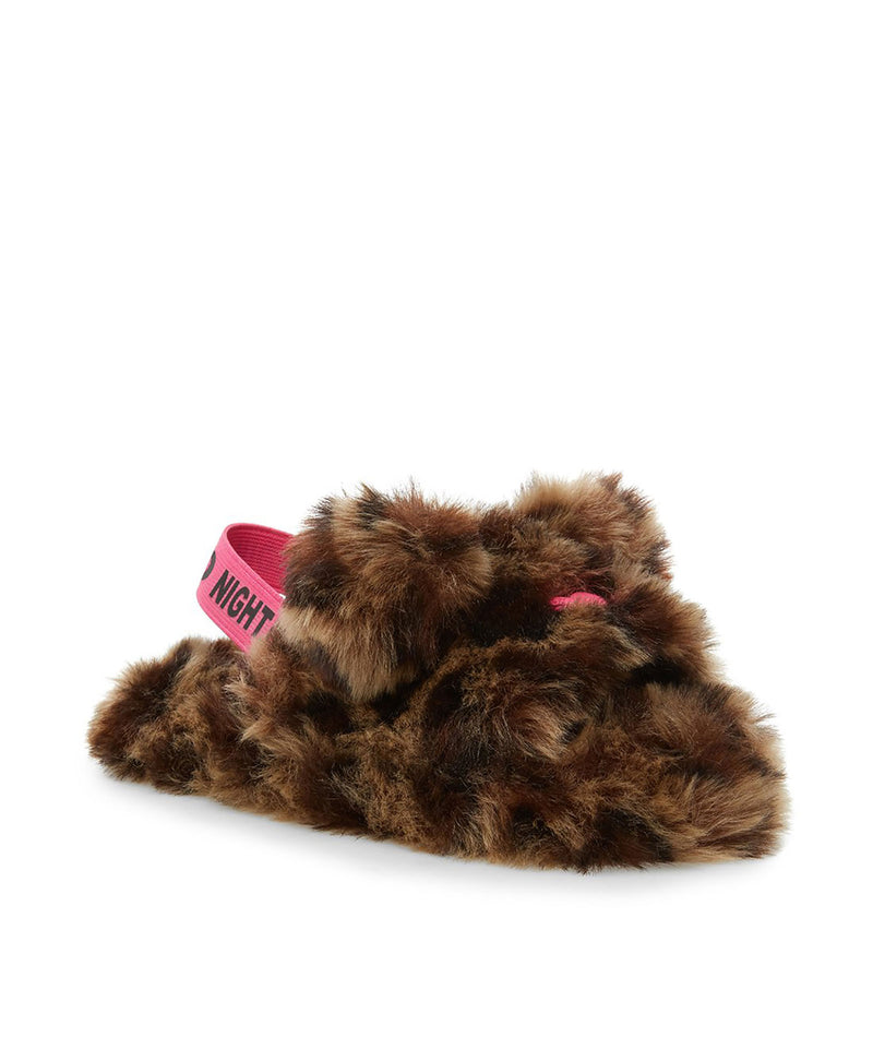 iScream Girls Tie Dye Bear Slippers
