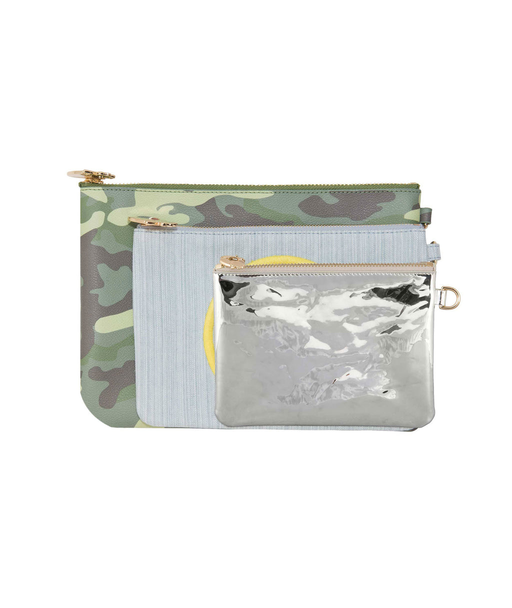 Stoney Clover Camo 3 Piece Pouch Set - Frankie's on the Park