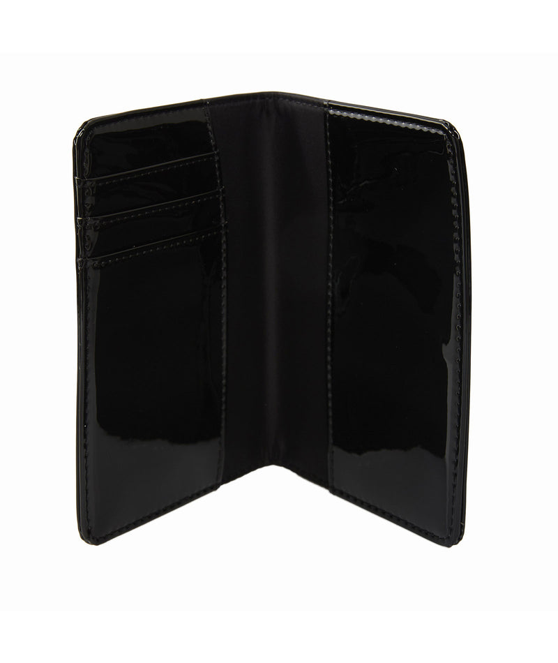 Stoney Clover Black Patent Passport Case - Frankie's on the Park