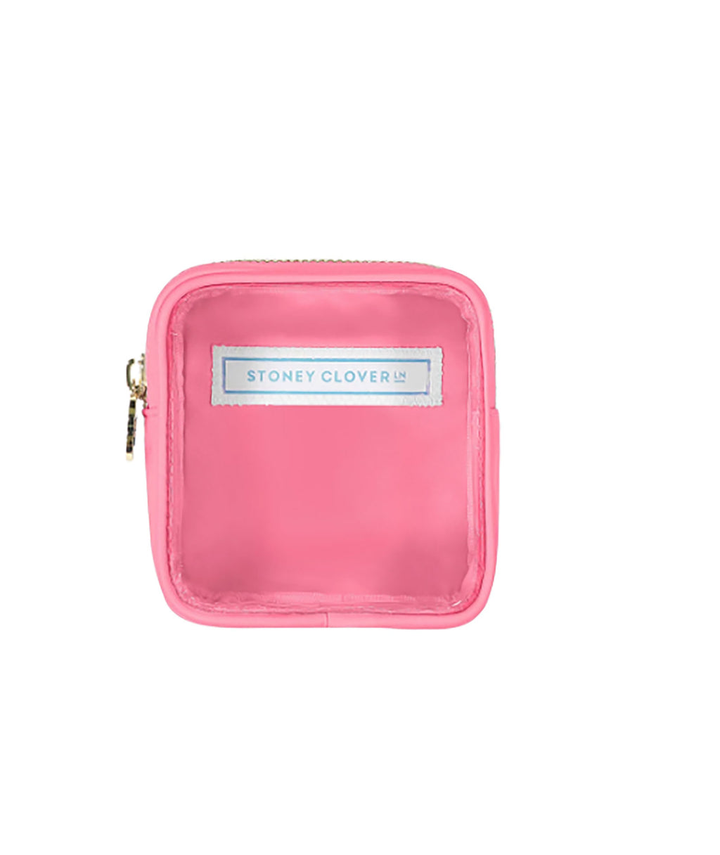 Stoney Clover Mini Guava Clear Pouch