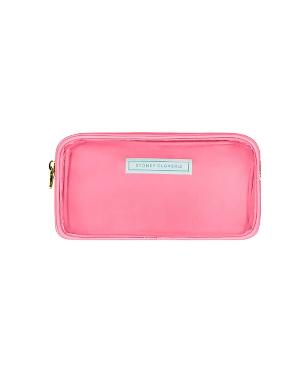 Stoney Clover Small Guava Clear Pouch