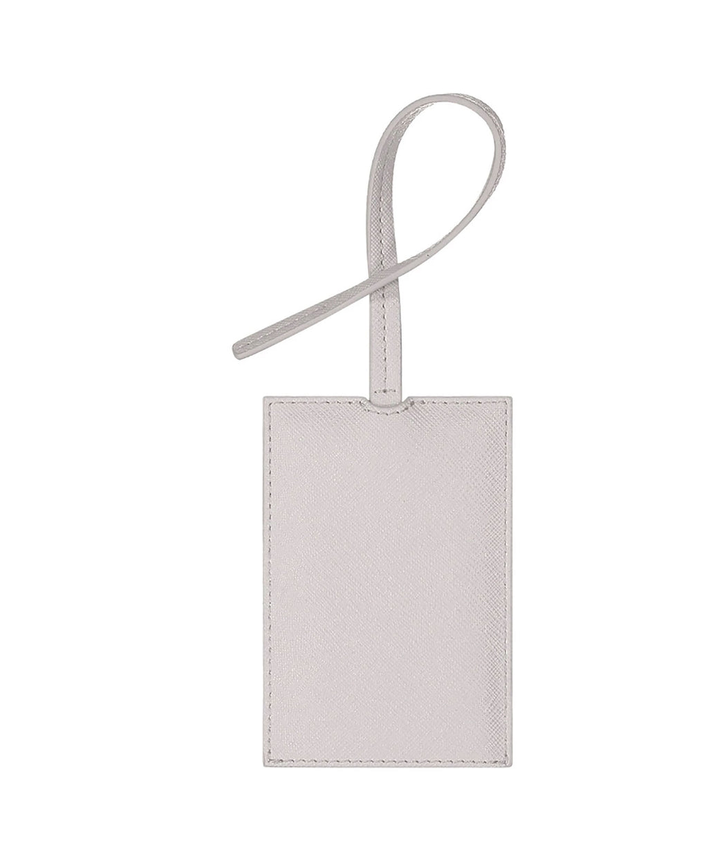 Stoney Clover Blanc Luggage Tag
