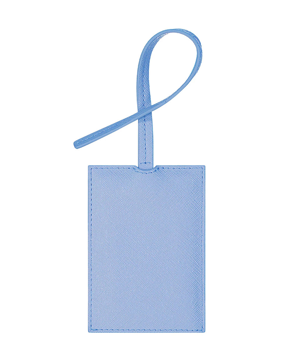 Stoney Clover Periwinkle Luggage Tag