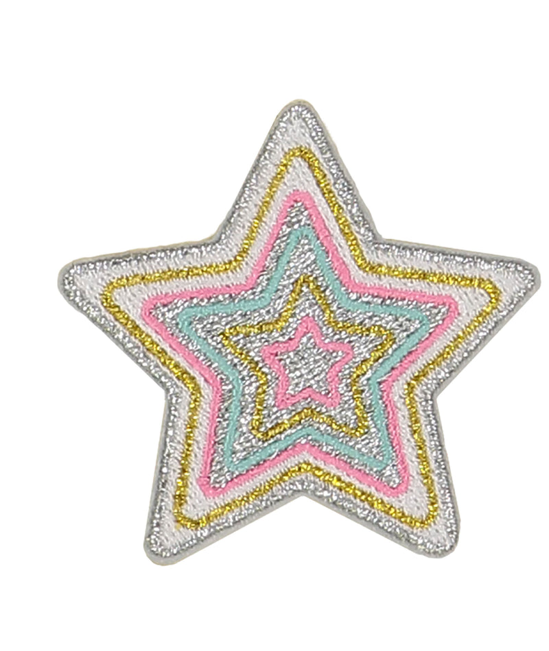 Stoney Clover Rainbow Star Patch