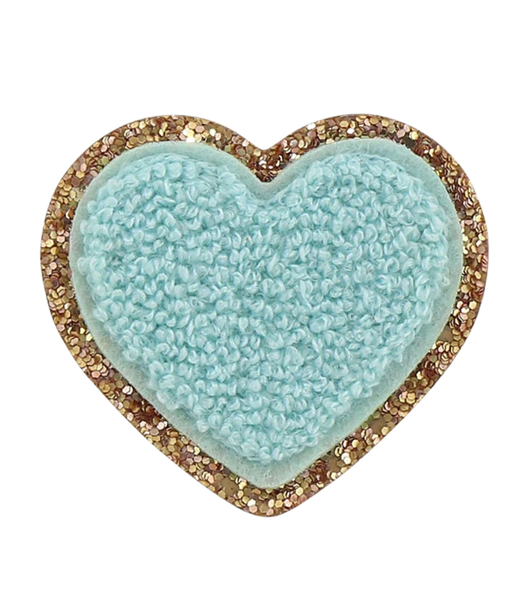 Stoney Clover Cotton Candy Glitter Heart Patch