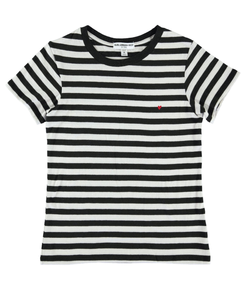 Sub_Urban Riot Girls Chelsea Striped Tee