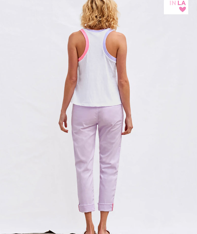 Sundry Women Colorblock Tank