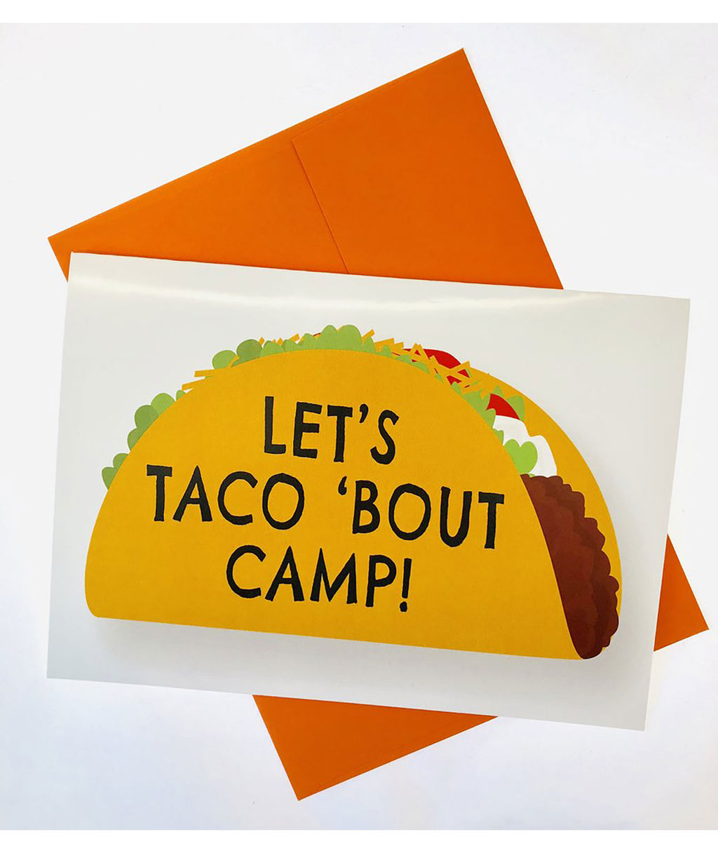 Sunny Marshmallow Let's Taco 'Bout Camp Card